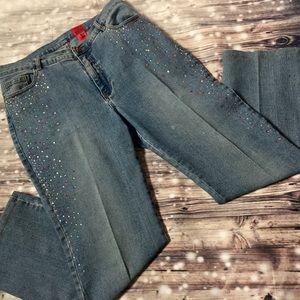 Vera Wang Jeans - Very Vera-Vera Wang Jeweled Jeans